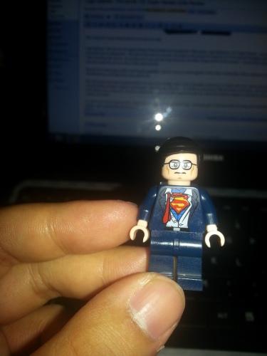 Clark Kent Lego