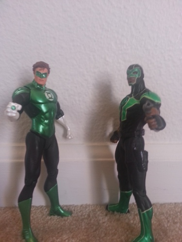 Two Green Lanterns Unite!