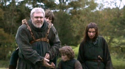 Bran's motley crew