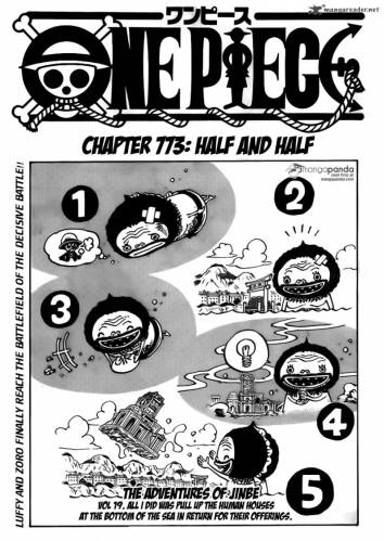 One Piece Chapter 773